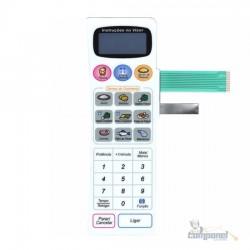 Membrana Microondas Panasonic NN7858 Branco